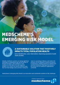 MedScheme Emerging Risk ACG System