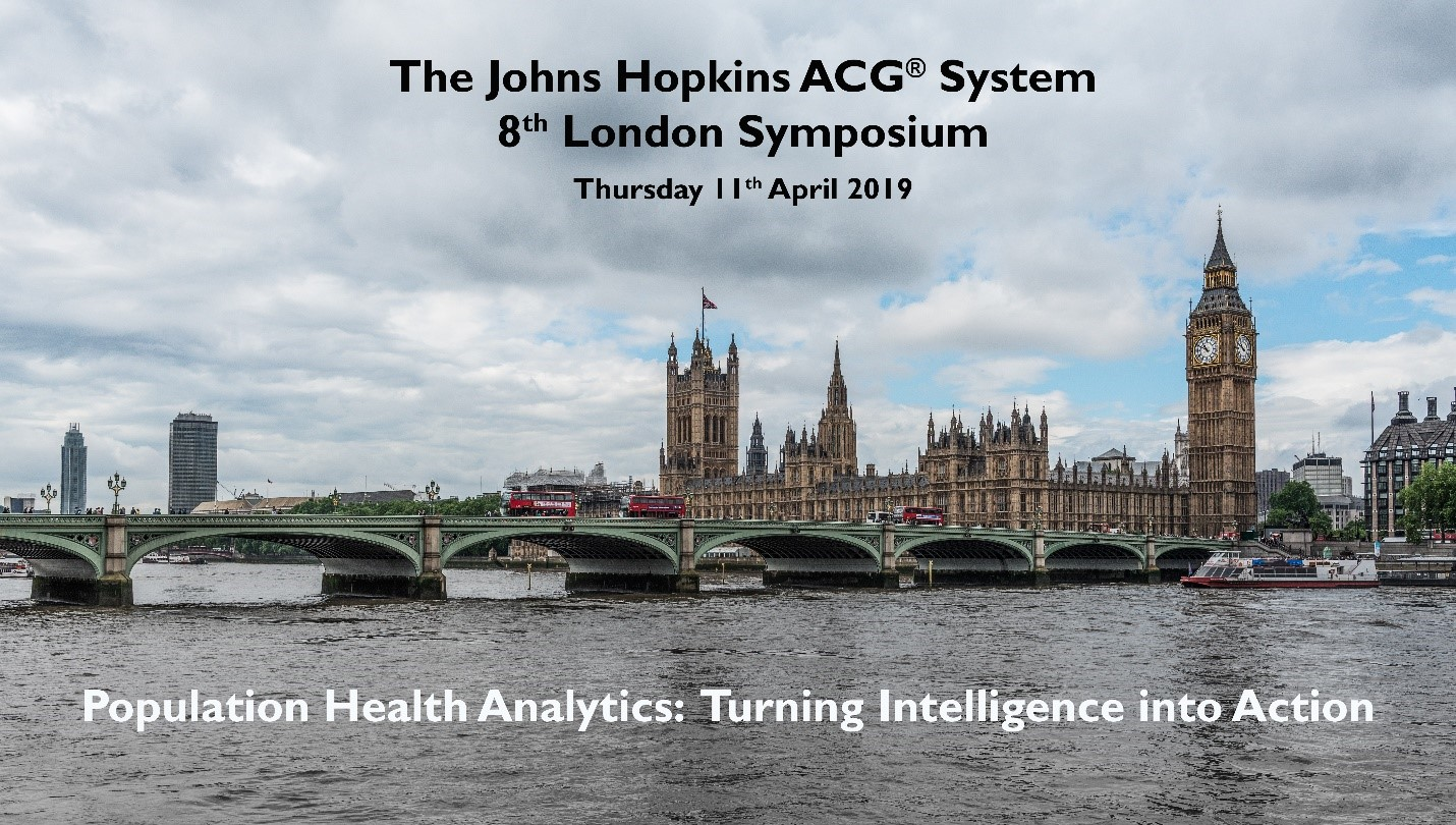 The Johns Hopkins ACG® System London Symposium 2019 | Johns